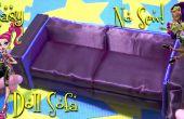 Maak een geweldige chique en elegante pop Sofa (gemakkelijk-NO-NAAIEN)