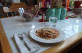 Gemakkelijk en verse Pasta diner in 20 minuten