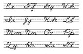 Hoe te schrijven in cursieve