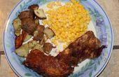 BBQ Pulled Pork 4 kaas Meatloaf