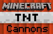 How To Build een Minecraft TNT pijl Cannon - Pocket Edition
