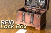 Arduino gecontroleerd Lock Box met magneetklep en RFID