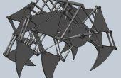 Mijn 123D Jansen Strandbeest mechanisme