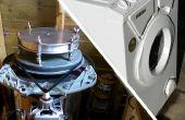 Centrifugaal gieten machine uit een wasmachine
