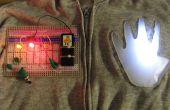 Wearable Breadboard voor elektronica - ProtoHoodie