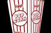 Hoe maak je een oversized popcorn decoratie