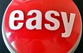 Hacken van de nieuwste versie van nietjes 'Easy' knop en het bouwen van een eenvoudige fysieke activiteit herinnering tool