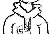 Hoe teken je een Awesome Cartoon Hoodie