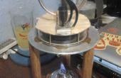 Stirling motor Hot Plate, duwen de envelop op een goedkope LTD Stirlingmotor
