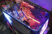 LED Rave zonne-Shopping Cart driewieler