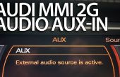 Stereo AUX activering in Audi MMI 2G