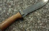 Overspuiten van een mes