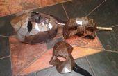 Stalen maskers op basis van een 3D gezicht scan