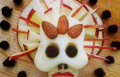 Suikervrij kaas schedels voor Dias de Los Muertos (dag van de doden)