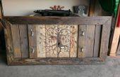 Pistool Rack van geregenereerde Pallet hout