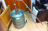 Bouwen een vat nog voor Whiskey (Pot nog ontwerp)