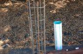 Maken kooien On-site wapening voor beton Piers
