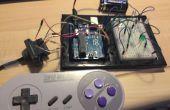 Maak een SNES gevestigde verantwoordelijke voor de Arduino spel