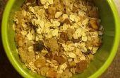 Gezonde, stevige, snel en heerlijk ontbijt verpakt vol met voedingsstoffen