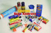 Het kiezen van de beste lijm voor de baan