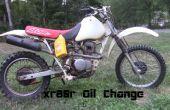 XR80 Olie verandering