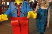 Lego Zombie Minifiguren kostuum