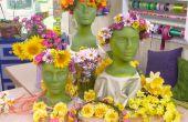Floral hoofd kransen--een Midsummer traditie