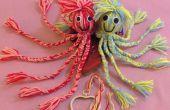Speelgoed Octopus garen pop. Geen naaien.