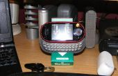 Gratis Diy Zune, iPod, iPhone, PDA, mobiele telefoon of gadget houder/dock/stand