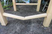 Repareren van een gebroken stoel gebeld