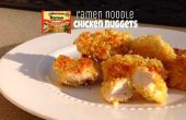 Ramen Noodle kipnuggets