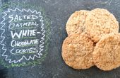 Gezouten havermout White Chocolate Cookies