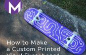 Hoe maak je een aangepaste afgedrukt Vinyl Skateboard