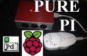 Pure Pi: Controle aangepaste stompbox effecten op een Raspberry Pi met een smartphone