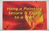 Hang een schilderij veilig, spoelen en niveau