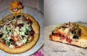 Groenten tarwe Pizza - stap 1