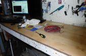 Gebruik van hout, gelamineerde bevloering voor een top van de Bank werk