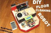 CleanBOT - uw DIY vloer schoonmaken robot