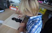 Houten laptop voor kinderen