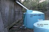 Hele huis regenwater stortbak watersysteem