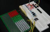 GEEKS zijn KEWL: Arduino-gecontroleerde 18 x 6 LED Matrix (in uitvoering)