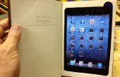 Maak een iPad Mini boek met opbergvak