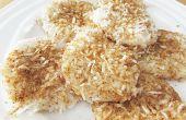 Kokos-kleefrijst Cakes / Palitaw