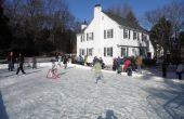 7 stappen naar een ijsbaan achtertuin