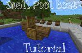 Minecraft PE Tutorial vluggertje: Kleine zwembad boot