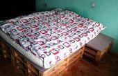 DIY Pallet Bed op een begroting