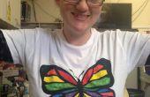Goedkope scherm bedrukt kleur-in T-shirts
