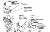 Ter vervanging van de motor Water pomp en Spanningsrol (Honda Civic D15B).