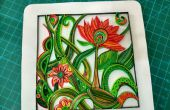 Floral Design quilled