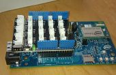 Intel Edison Live Temperatuurdisplay